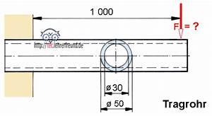 Querschnitt Berechnen Formel : festigkeitsberechnungen 5 bungsaufgaben zu biegung tec lehrerfreund ~ Themetempest.com Abrechnung