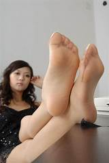 Asian legs and feet