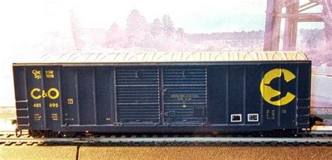 Walthers Chesapeake & Ohio 50' Double Door Box Car C