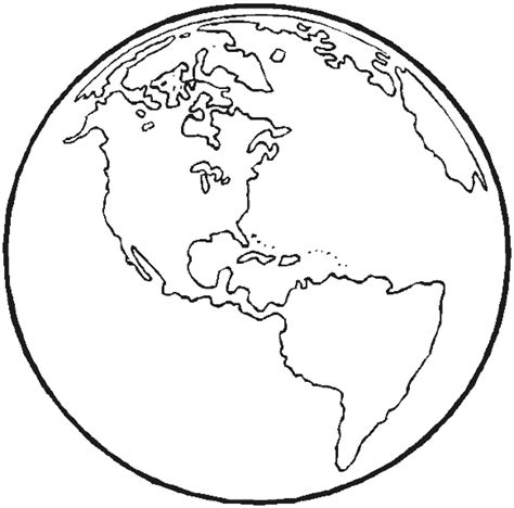 printable earth coloring pages  kids earth day