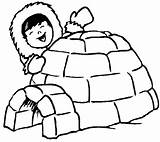 Igloo Coloring Sheets Sheet Pages Coloriage Ultimate Hiver Coloringpagesfortoddlers Colorier Preschool Colouring Printable Eskimo Animaux Polaires Dessin Esquimaux Deco Drawing sketch template