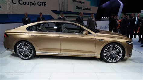 volkswagen coupe volkswagen c coupe gte concept will spawn production model