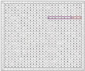 gctppb buchstabensalat unknown cache
