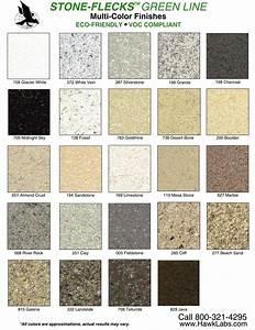 Stone Flecks Color Chart MDL Bath And Kitchen