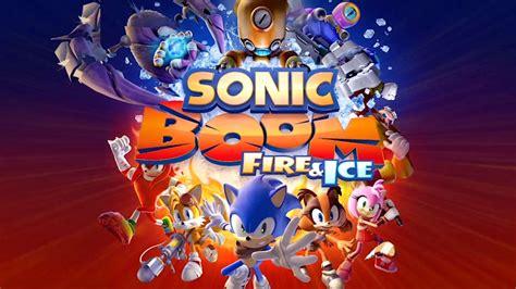 sonic boom fire  ice   trailer gamespot