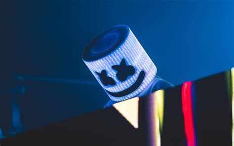 Download Wallpapers Dj Marshmello, 4k, Concert, Night Club, Dj, Superstars, Marshmello