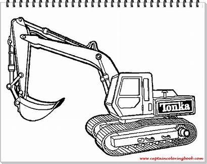 Excavators Coloring Pages