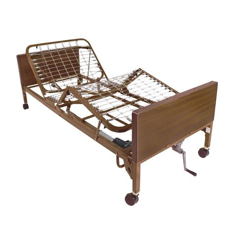 Invacare IVC Semi-Electric Home Care Bed Package With ...