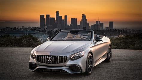 mercedes amg  matic cabriolet  wallpaper hd