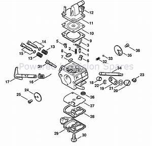 Stihl Fs 250 Brush Cutter Parts Diagram