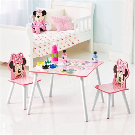 table et chaise minnie apart kindersitzgruppe mickey minnie mouse