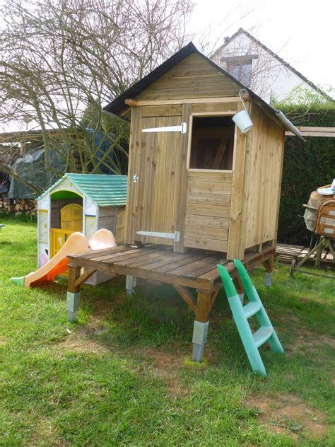 Cabane Enfant Réaliser Avec Des Palettes