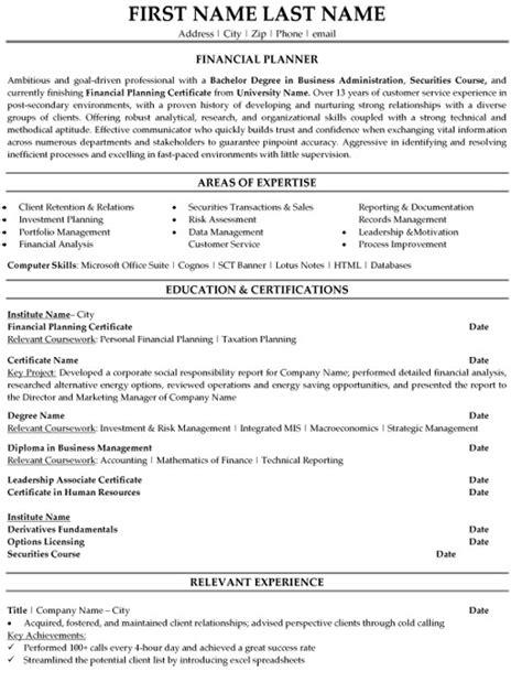 Top Finance Resume Templates & Samples
