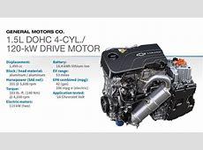 2016 Winner GM 15L DOHC 4cyl120kW Drive Motor