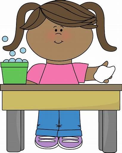 Classroom Clip Table Job Washer Clipart Graphics