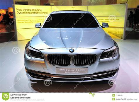 Bmw Concept 5 Series Activehybrid Sedan Editorial Stock