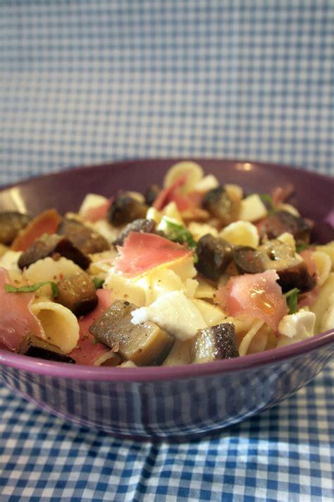 pates aux aubergines et mozzarella p 226 tes aux aubergines mozzarella et jambon cru belette cuisine