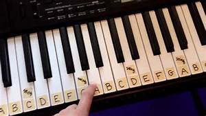 How To Label A 61 Key Keyboard Piano