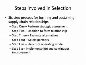 Outsourcing Of Supply Chain Management