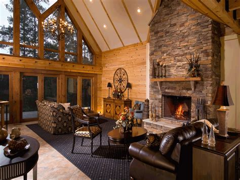 Cabin Interior Pictures by Inside Log Cabin Homes Log Cabin Interior Photo Gallery