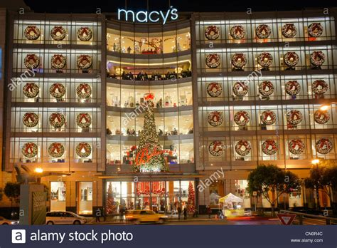 macy s department store christmas decorations san