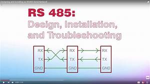 Designing And Installing An Rs485 Serial Network