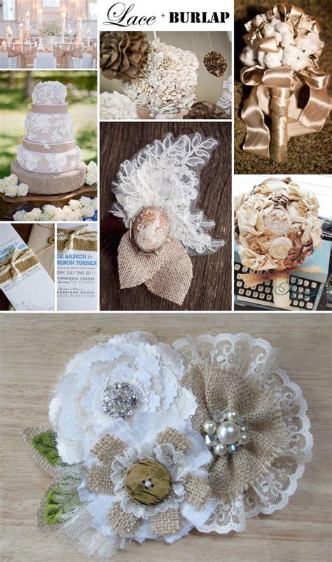 burlap table accessories simple home decoration