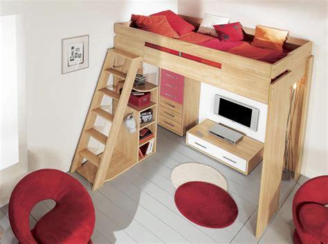 tendance le lit mezzanine décoration