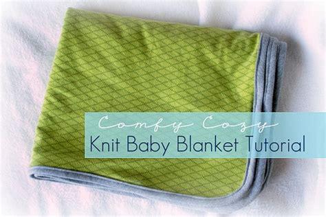 Interlock Knit Baby Blanket 36