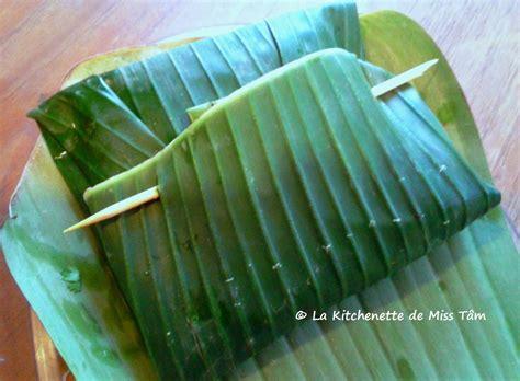 cours de cuisine vietnamienne feuilles de bananier archives la kitchenette de miss