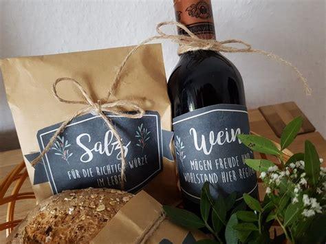 geschenk zur neuen wohnung hauseinweihung geschenk brot und salz wohn design