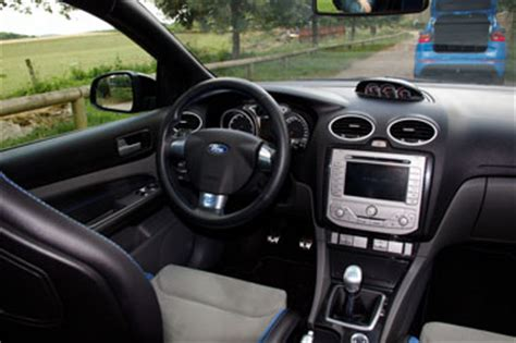 interieur ford focus rs reportage comparatif ford focus rs mki mkii mkiii