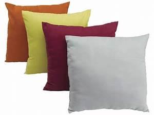 Housse De Canapé Conforama : coussin coloris assortis micro vente de coussin et ~ Dailycaller-alerts.com Idées de Décoration