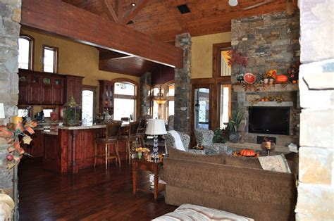 country floor wonderful open floor plans interior decors for country style homes ideas added stones wall