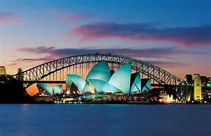 Sydney, Australia, Opera, House, And, Harbour, Bridge, Desktop