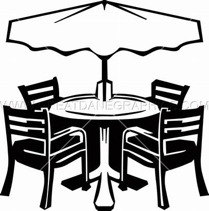 Patio Furniture Clipart Kitchen Chair Production Ready