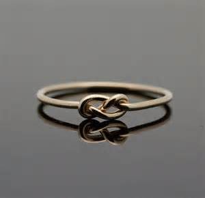 the knot engagement rings gold infinity ring solid 14k gold knot ring by indulgentdesigns