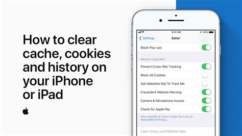 how to erase history on iphone how to clear cache cookies and history on your iphone or How T