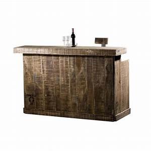 Bar Style Industriel : bar esprit loft factory meubles au style industriel ~ Teatrodelosmanantiales.com Idées de Décoration