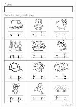 alphabet letter sounds review  prep write  missing