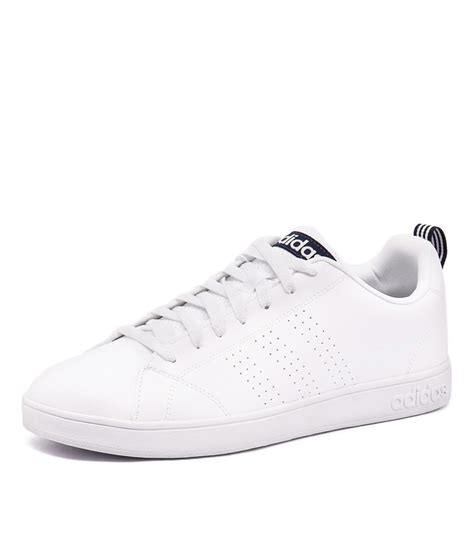 adidas neo advantage clean black sport mens advantage clean vs white navy adidas neo mens