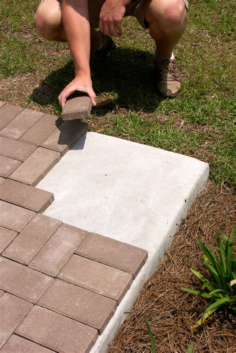How To Properly Install 1″ Pavers Over Concrete