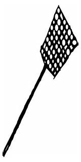 Fly Swatter Clip Clipart Cliparts Library sketch template