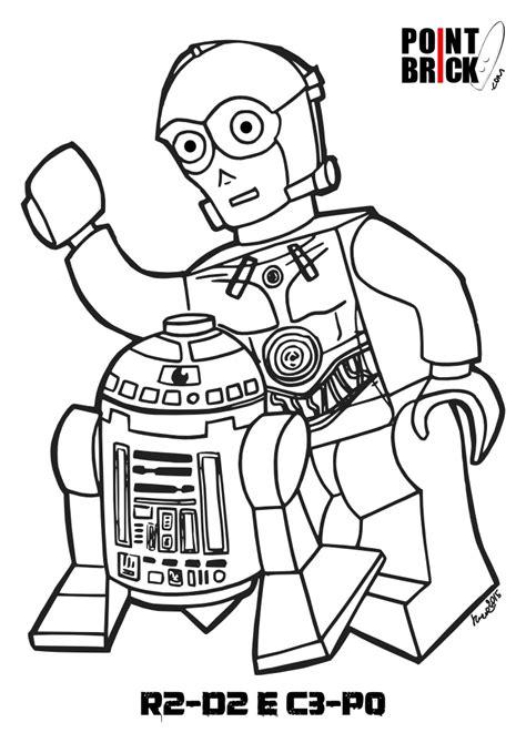 C3po Kleurplaat by Disegni Da Colorare Speciale Lego Wars Day