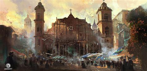 Assassins Creed Iv Black Flag Concept Art By Donglu Yu