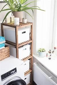 Badezimmer Deko Ikea : schnelle badezimmer umgestaltung und eine neue waschmaschine ~ Frokenaadalensverden.com Haus und Dekorationen