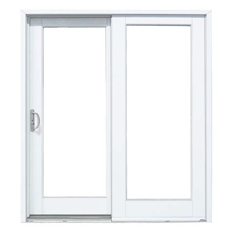 mp doors 60 in x 80 in smooth white left composite