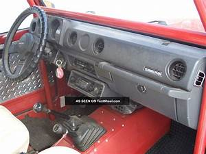 1986 Suzuki Samurai - Red - 4x4 - 5 Speed
