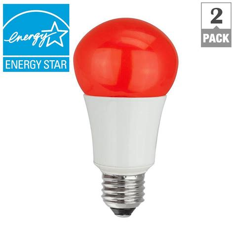 home depot lava l bulb tcp 40w equivalent a15 household led light bulbs red 2