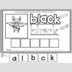 Easy, Peasy Printables Prek And Kindergarten Color Words Worksheets